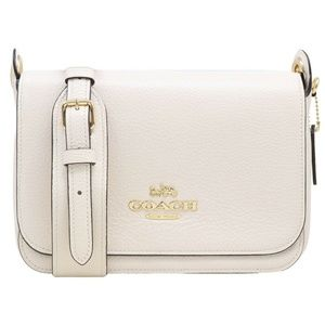 REFINED PEBBLE LEATHER SMALL JES MESSENGER CHALK